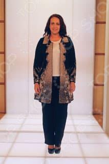 Пальто-свингер Milana Style Мелодия