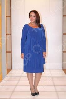 Синее платье Klimini Шампань