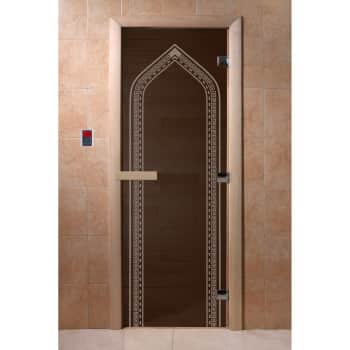 Дверь для бани Банные штучки «Арка»