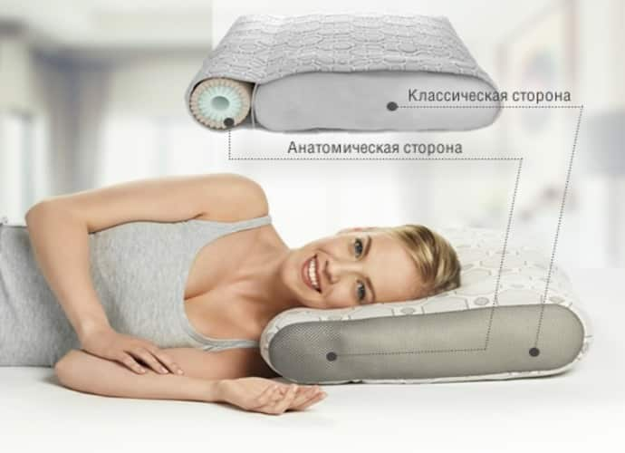 Подушка Dormeo Air Smart Duo