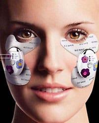 Прибор для ухода за кожей вокруг глаз