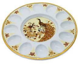 Тарелка для яиц «Павлин»