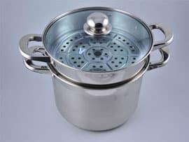 Набор кастрюль для приготовления макарон