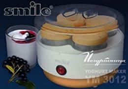 Йогуртница Smile YM 3012