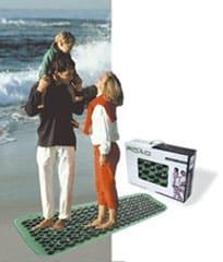 Массажный коврик с «камнями»