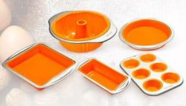 Силиконовые формы для выпечки Delimano Fantasia Bakeware