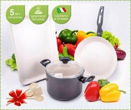 Набор посуды Delimano Ceramica Prima+ Plus