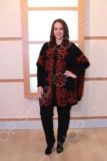Женское пончо Мilana Style Барокко