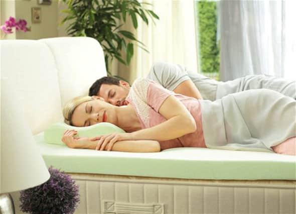 Применение матраса-топпера и анатомической подушки Dormeo Renew