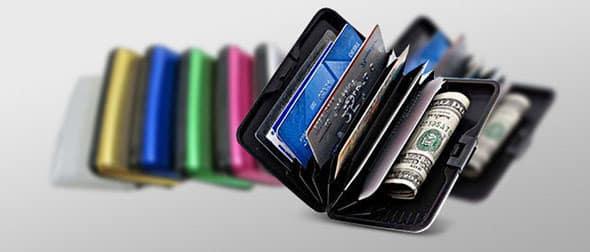 кошелек из алюминия «Мультикард»